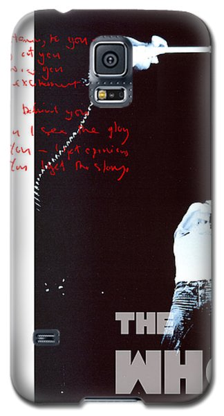The Who Galaxy S5 Case