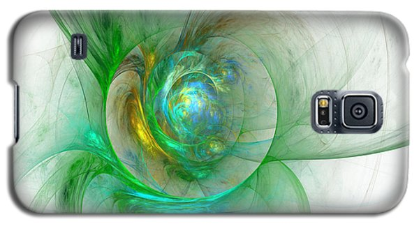 The Whole World In A Small Flower Galaxy S5 Case by Sipo Liimatainen