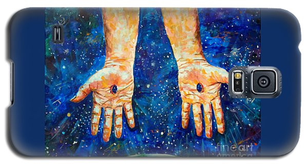 The Whole World In His Hands Galaxy S5 Case by Lou Ann Bagnall