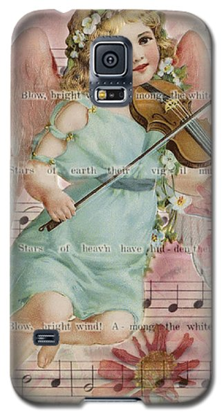 Galaxy S5 Case featuring the photograph The Wind  by Sandra Foster
