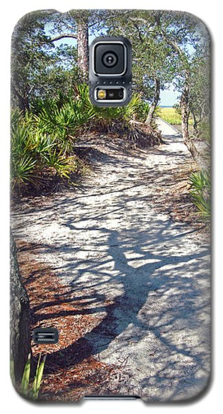 Galaxy S5 Case featuring the photograph The Winding Path by Ellen Tully
