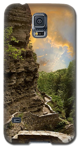 The Winding Trail Galaxy S5 Case by Jessica Jenney