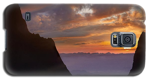 The Window At Sunset Big Bend Np Texas Galaxy S5 Case