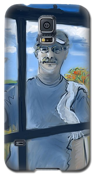 The Window Washer Galaxy S5 Case by Jean Pacheco Ravinski