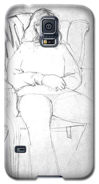 The Wing Chair Galaxy S5 Case by Mark Lunde
