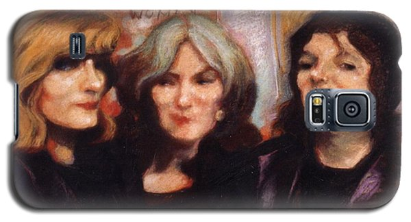Galaxy S5 Case featuring the painting The Women by Walter Casaravilla
