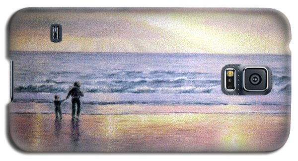 Galaxy S5 Case featuring the painting The Wonder Of Light by Rosemary Colyer