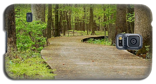 The Wooden Path Galaxy S5 Case