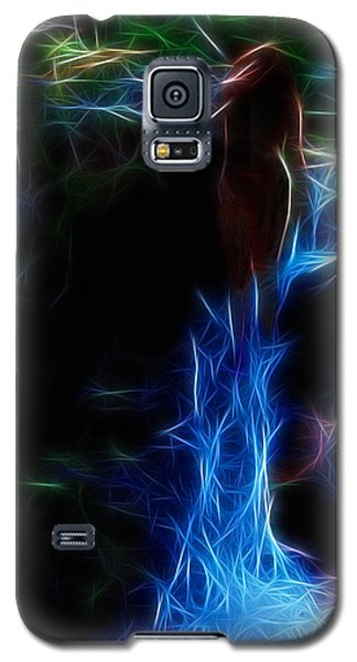 The Woods Are Lovely Dark And Deep Galaxy S5 Case