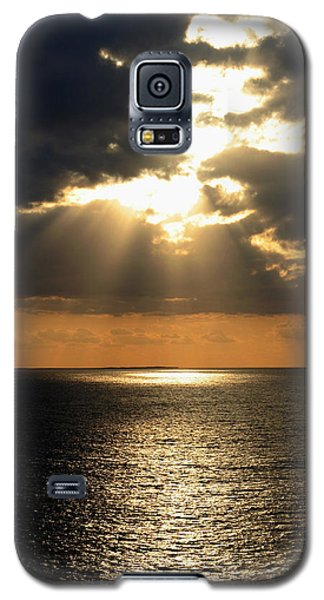 Key West Sunset The Word Galaxy S5 Case