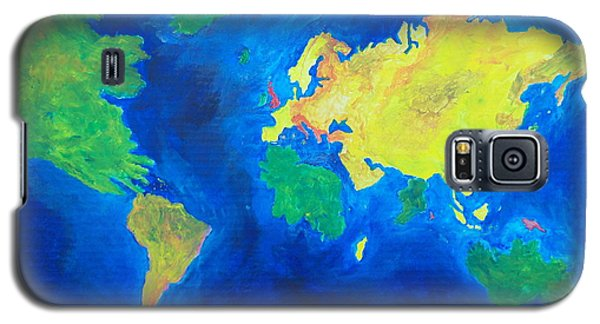The World Atlas According To The Irish Galaxy S5 Case