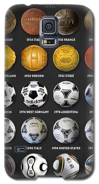 The World Cup Balls Galaxy S5 Case by Taylan Apukovska
