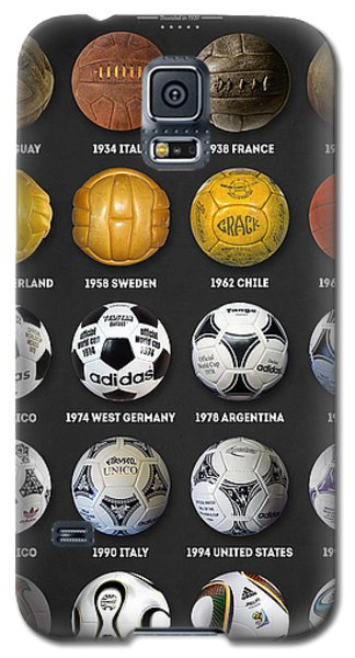 The World Cup Balls Galaxy S5 Case