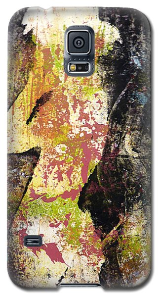 Galaxy S5 Case featuring the painting The World Inside by P Maure Bausch