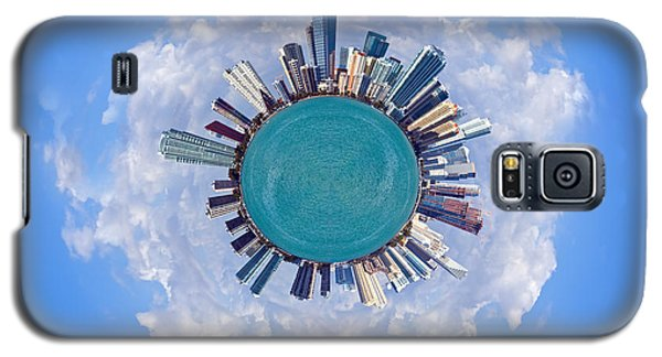 Galaxy S5 Case featuring the photograph The World Of Miami by Carsten Reisinger