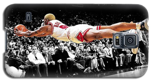 The Worm Dennis Rodman Galaxy S5 Case by Brian Reaves