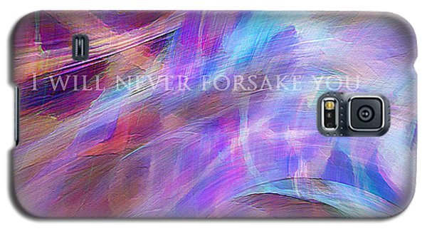 Galaxy S5 Case featuring the digital art The Writing's On The Wall by Margie Chapman