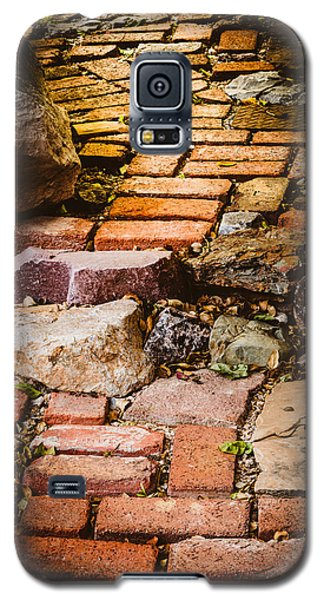 Galaxy S5 Case featuring the photograph The Yellow Brick Road by Beverly Parks