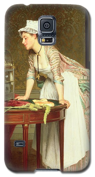 The Yellow Canaries Galaxy S5 Case by Joseph Caraud