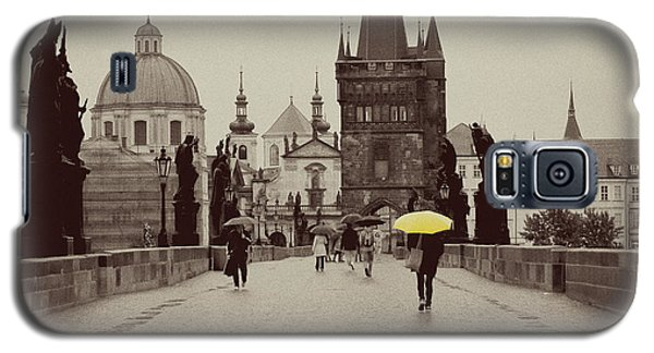 The Yellow Umbrella Galaxy S5 Case