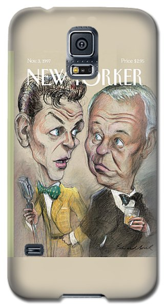 The Young Frank Sinatra Looking At The Old Frank Galaxy S5 Case