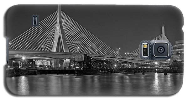 The Zakim Bridge Bw Galaxy S5 Case