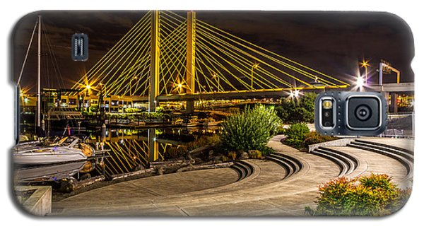 Galaxy S5 Case featuring the photograph Thea Foss Waterway Hwy 509 Bridge by Rob Green