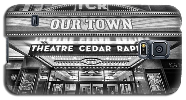 Theatre Cedar Rapids In Black And White Galaxy S5 Case