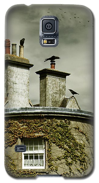 Thee Crows On Chimney's Galaxy S5 Case