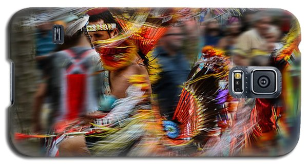 Their Spirit Is Among Us - Nanticoke Powwow Delaware Galaxy S5 Case