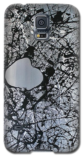 Galaxy S5 Case featuring the painting There Is A Hole In The Bucket by Michael Cross