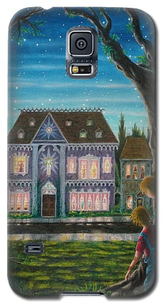 Galaxy S5 Case featuring the painting There Is A House In New Orleans by Matt Konar