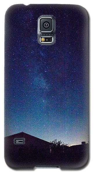 There's A Galaxy Over My House Galaxy S5 Case by Carolina Liechtenstein