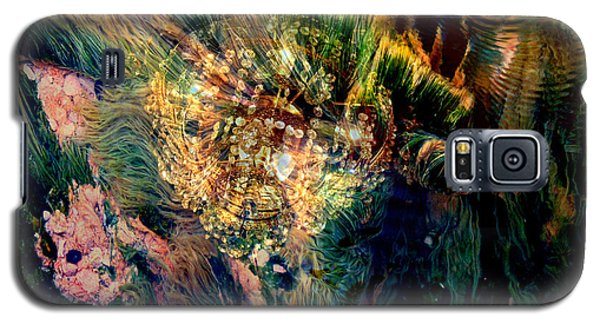 Galaxy S5 Case featuring the photograph Thermal Grasses by Irma BACKELANT GALLERIES