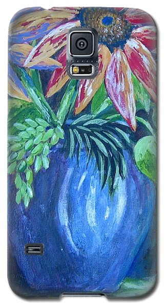 Galaxy S5 Case featuring the painting These Are For You by Suzanne Theis