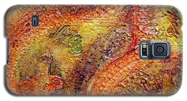Galaxy S5 Case featuring the painting These Three Remain by D Renee Wilson
