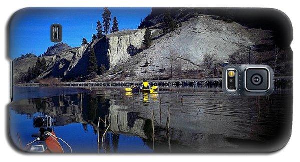 Thin Ice Kayaking Skaha Lake Galaxy S5 Case