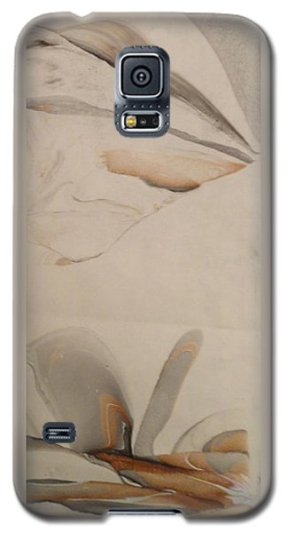 Galaxy S5 Case featuring the painting Thinker by Mike Breau