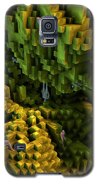 Galaxy S5 Case featuring the digital art Thinkers And Explorers by Matt Lindley