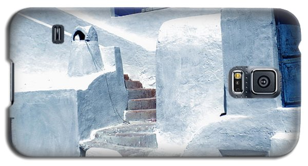 Galaxy S5 Case featuring the photograph Thirasia Island Ancient House Near Santorini Greece by Colette V Hera  Guggenheim