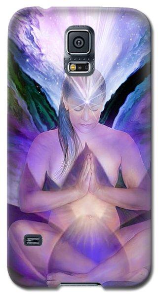 Third Eye Chakra Goddess Galaxy S5 Case