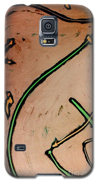 Galaxy S5 Case featuring the painting Thirteen by Jacqueline McReynolds