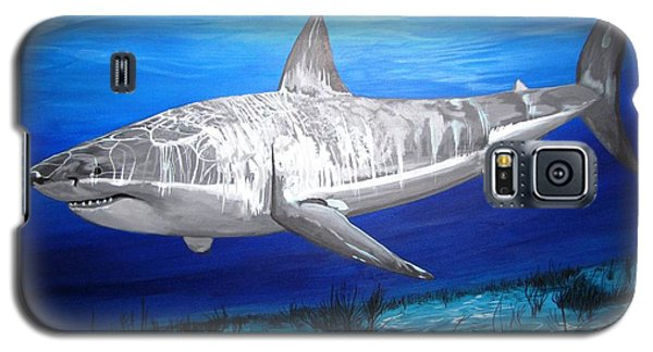 This Is A Shark Galaxy S5 Case by Kevin F Heuman