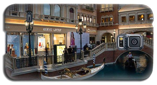 It's Not Venice - The White Wedding Gondola Galaxy S5 Case
