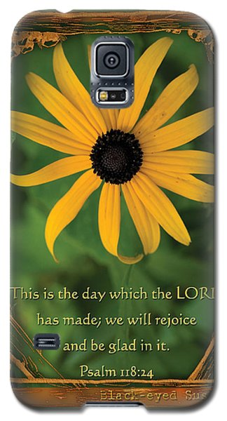 This Is The Day Sunflowers Galaxy S5 Case