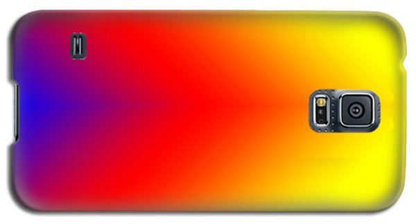 Galaxy S5 Case featuring the digital art This Way Abstract Arrrows by Karen Nicholson