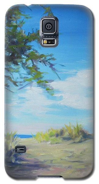 This Way To The Beach Galaxy S5 Case
