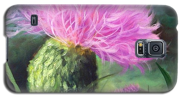 Thistle Galaxy S5 Case by Cheri Wollenberg