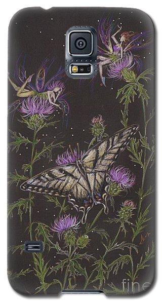 Thistle Galaxy S5 Case by Dawn Fairies