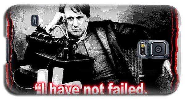 Thomas Edison On Failure Galaxy S5 Case